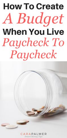 5 Easy Steps to Create A Budget That You'll Actually Use How To Create A Budget When You Live Paycheck To Paycheck Finance Money Making A Budget, Create A Budget, Making Ideas, Budget Help, Budgeting Finances, Budgeting Tips, Money Tips, Money Saving Tips, Money Hacks