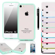 iPhone 5C Case, E LV iPhone 5C Case Cover Soft Slim Fit Flex (Frost Back) Shock-Absorption Bumper Case for iPhone 5C with 1 Clear Screen Protector, 1 Black Stylus and 1 E LV Microfiber Digital Cleaner (MINT) E LV http://www.amazon.com/dp/B00F6PQ558/ref=cm_sw_r_pi_dp_Fl9cub0FTC1X4