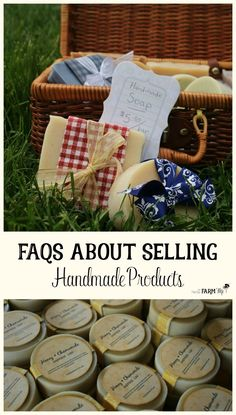 Are you interested in selling your handmade products but aren't sure where to start? Check out these frequently asked questions to get the answers you're looking for!