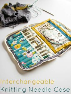 Leather Case for Knitpicks Interchangeable Knitting Needles