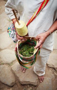 """Tradicional """"Poporo"""" Utilizado por los indígenas Kogui. www.magictourcolombia.com Sierra Nevada, Lost City, Stuff To Do, Big Brothers, Santa Marta, Beautiful People, Earth, Amazing, Life"""
