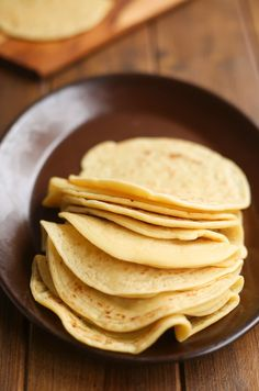 3-Ingredient Grain Free Tortillas | A Saucy Kitchen
