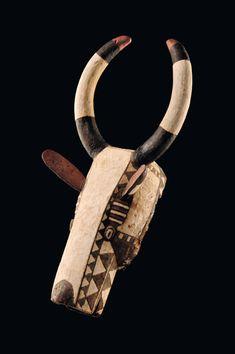 Burkina Faso, Mossi   Buffalo mask