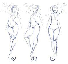 Resultado de imagen de pose frontal dibujoç