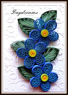 Blue beehive flowers for mother's day
