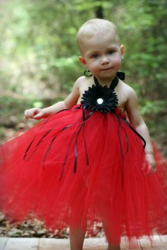 Red 'Lady Bug' Tutu Dress. $30.00, via Etsy.