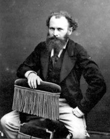 Photograph of Édouard Manet, c. Pierre Auguste Renoir, Edgar Degas, Henri Rousseau, Camille Pissarro, Claude Monet, Vincent Van Gogh, Eduardo Manet, Edouard Manet Paintings, Portraits