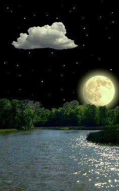 Moon Images, Moon Photos, Moon Pictures, Nature Pictures, Stars Night, Good Night Moon, Night Gif, All Nature, Amazing Nature