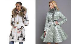 Модные женские пуховики осень-зима 2017-2018 | фото, зимние