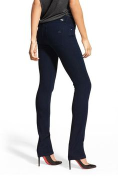 """The Coco fit is great for girls who have a little more booty to love,"" Ahmed says.  DL1961 Coco Curvy Straight Cut Jeans, $178, available at DL1961."