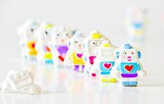 DIY Plaster Robots