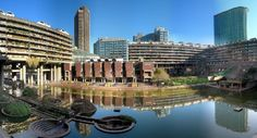 Barbican Centre London | Another thing: if you're near the Barbican Centre, home of the London Symphony Orchestra and the Royal Shakespeare Company, you know you're close. The Barbican Centre is adjacent to the Museum of London.