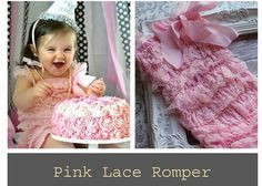 Check out this item in my Etsy shop https://www.etsy.com/listing/130862884/pink-baby-lace-romper-girls-ruffle
