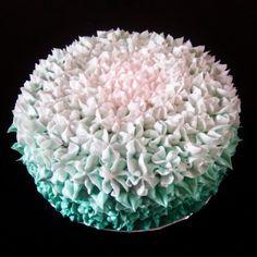 ombre cake  checkour IG : TIWI_IBUNYAFALIH contact: wa/line 08572057175