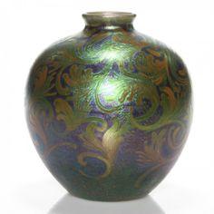 """Weller Sicard vase, 7 3/8"""" : Lot 71"""