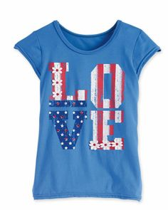 Cool American flag t-shirts for kids: This tee sums up one of our favorite American values