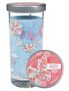Bridgewater Candle Company: Hope is the fragrance of new beginnings washed in notes of fresh, clean linen.