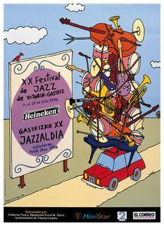Mauro Entrialgo, Festival de Jazz de Vitoria-Gasteiz, 1996