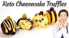 Keto Cheesecake Truffles | No Bake | Gluten Free - YouTube Keto Candy, Free Youtube, Keto Cheesecake, Candy Making, White Chocolate, Truffles, Muffin, Gluten Free, Baking