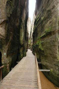 Adršpach-Teplice Rocks One of our natural wonders which offers numerous hiking paths squeezed between beautiful gorges.