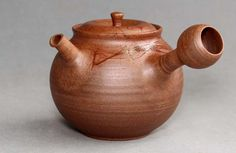 Tokoname Mogake Teapot by Hokujo #hokujo33
