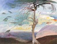 Tivadar Kosztka Csontváry Magányos cédrus (Hungarian Modernist Painter The Solitary Cedar, 1907 oil on canvas, Height: 194 cm in). Framed Wall Art, Framed Art Prints, Painting Prints, Paintings, Painting Art, Canvas Art, Canvas Prints, Watercolor On Wood, Post Impressionism