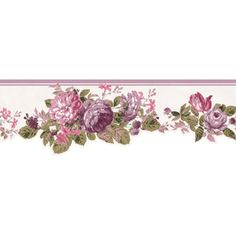 Victorian Rose Wallpaper Border | cut victorian roses wallpaper border ch77647dc ebay filesize 320x172 ...