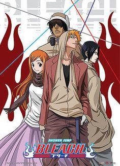 Bleach Ichigo Casual Group Wall Scroll Anime GE 9893 NEW Orihimi Sado Uryu