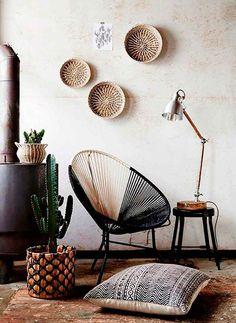 ⇢ Decora los rincones más intelectuales de tu casa  • SILLAS & LÁMPARAS • #decoración #interiorismo #deco
