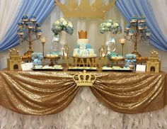 "Prince / Baby Shower ""Gianni's royal baby shower"" 