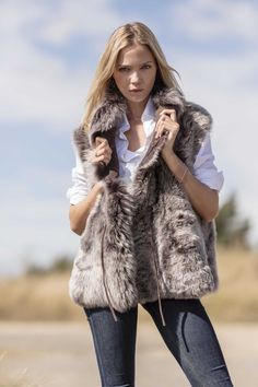 #Toscana #Sheepskin GILETS Go on! You know you want it and once you do it's your #NBF in 4 colours Order today http://www.pinkavocet.com/toscana-sheepskin-gilet/