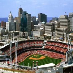 Cincinnati, OH  Joey loves the Reds!  We had a fun evening here 2 Summers ago!  Its time to go again!