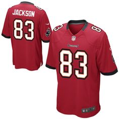 4a4aabac1 Nike Tampa Bay Buccaneers Historic Logo Youth Vincent Jackson Game Team  Color Jersey