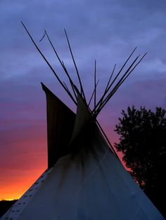 A tee pee for the yard