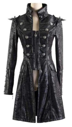 Harbinger of Death Jacket - Gothic, industrial, steam punk coats
