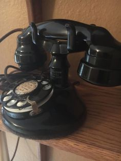Antique-Western-Electric-A1-E1-handset-No-2-Dial-extra-fine-condition