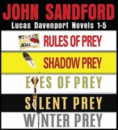 John Sandford's Prey series is definitely worth reading.