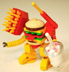 LEGO Big MaK Mech: I'm Lovin' It