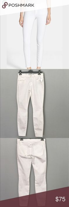 "AYR ""The Skinny White"" jeans NWT From AYR at Nordstrom, ""The Skinny White"" jean. Size 31, length 30. NWT. There is some store dust on the bottom but it's still an awesome and new pair of white jeans for the summer. AYR Jeans Skinny"