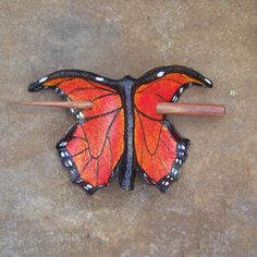 Monarch Butterfly  Hair Cup by MythicalDesigns on Etsy, $30.00
