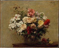 Henri Fantin-Latour (French, 1836–1904). Summer Flowers, 1880.