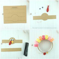 Turkey Headband Thanksgiving Craft