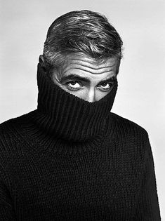 George Clooney @thecoveteur