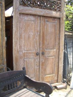 Balinese Furniture Solid Teak Furniture Traditional \u0026 Modern Styles - Sydney Northern Beaches & Balinese carved wooden doors   Doors \u0026 Doorways   Pinterest ... Pezcame.Com