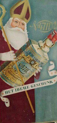 Oude reclamebord 4711 Eau- de cologne