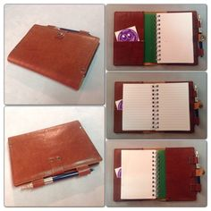 Leather Notebook Cover « Just Imagine…