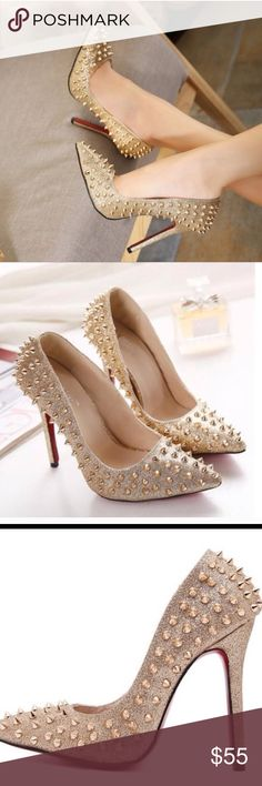 🌹😍🎉🎉Royality 🎉🎉 Very cute shoes with red soles, wonderful and very cute no box included. All items new never worn too small for me. Not a brand Shoes