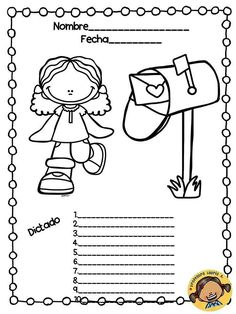 Plantillas para el dictado (38) English Activities, Class Activities, School Hacks, School Projects, Boarders And Frames, School Clipart, School Worksheets, School Decorations, Teacher Hacks
