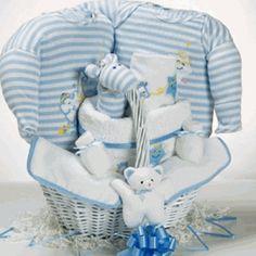 """Catch A Star"" Boy Gift Basket  http://storkbabygiftbaskets.com/catch-a-star-basket-boy.html  $99.95  #storkbabygiftbaskets  #storkbabygifts http://www.cornerstorkbabygifts.com/baby-gift-baskets.aspx"