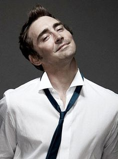 There's some wonderfully awkward, boyish charm about Lee Pace that makes him so fascinating and adorable.